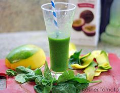 Panera's Green Passion Power Smoothie