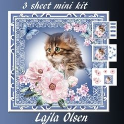 Sweet Cat on Craftsuprint - View Now!