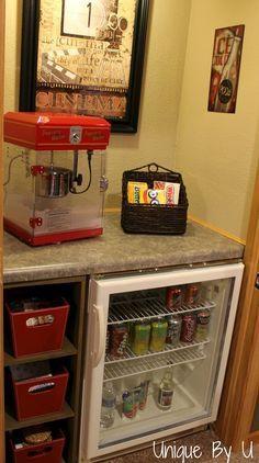 bonus room with beverag area | Bonus room ideas on Pinterest | Bonus Rooms, Movie Rooms and Laminate ...