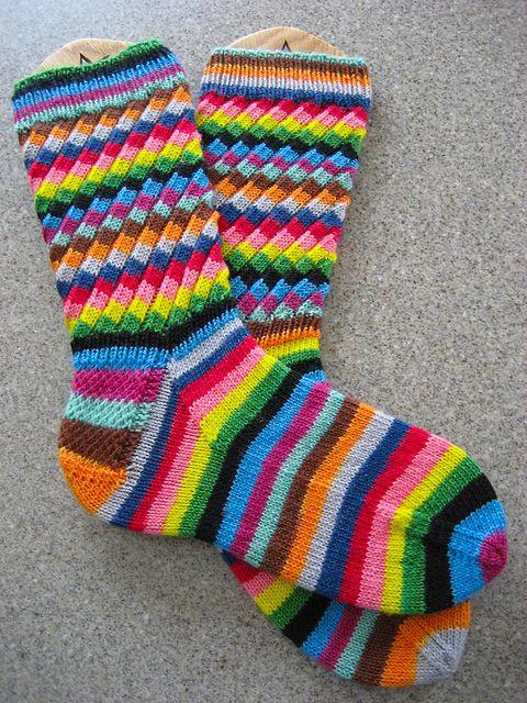 Ravelry: chelleknit's Fruit Stripe Gum Socks