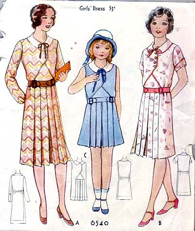Image result for 1930s kids dress