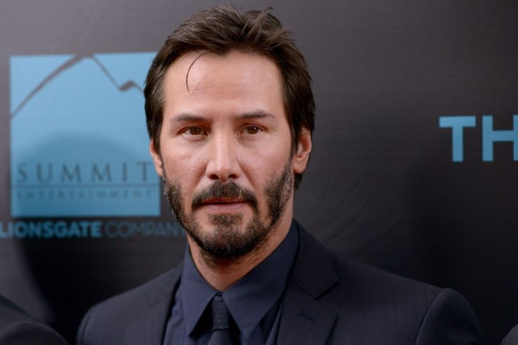 Keanu Reeves, October 2014 ~ He is 50 years old!!! He must be a vampire...