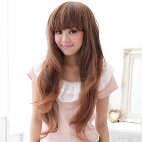 Long Wigs - Wavy Caramel - One Size