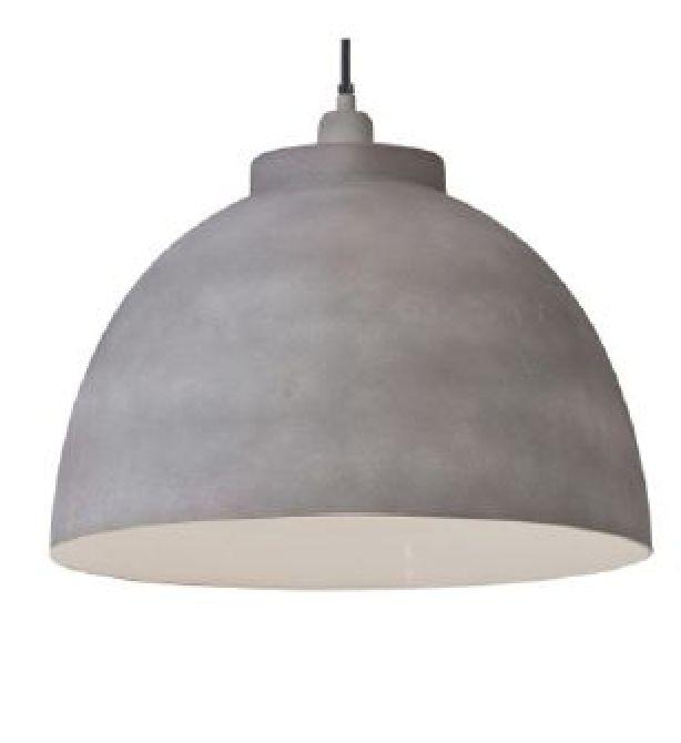 Hanglamp betonlook kyto Pronto wonen