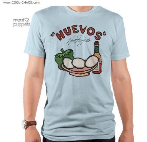 Meat Puppets T-Shirt / Huevos Meat Puppet Rock Tee