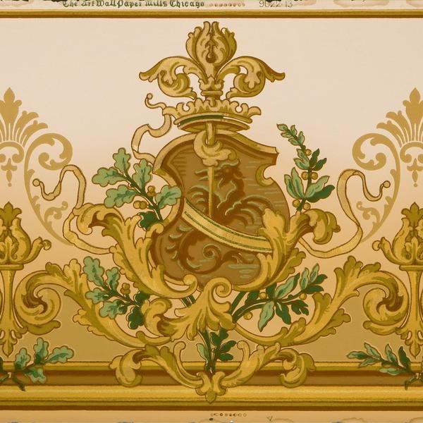 143 Best Original Antique Wallpaper Remnants Images On