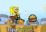 Sponge Bob SuperBike: Juego de bob esponja, donde tiene que manejar una moto que en las subidas tiene una gran velocidad y trata de caer bien y no volcar, atrapa todas las hamburguesas http://www.ispajuegos.com/jugar4372-Sponge-Bob-SuperBike.html