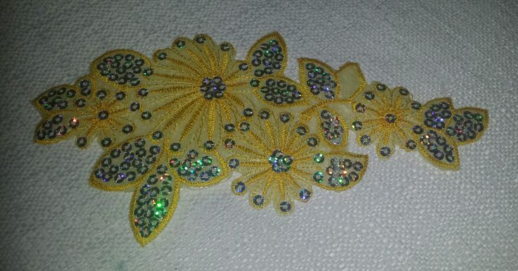 Iron  On Sequence  Applique
