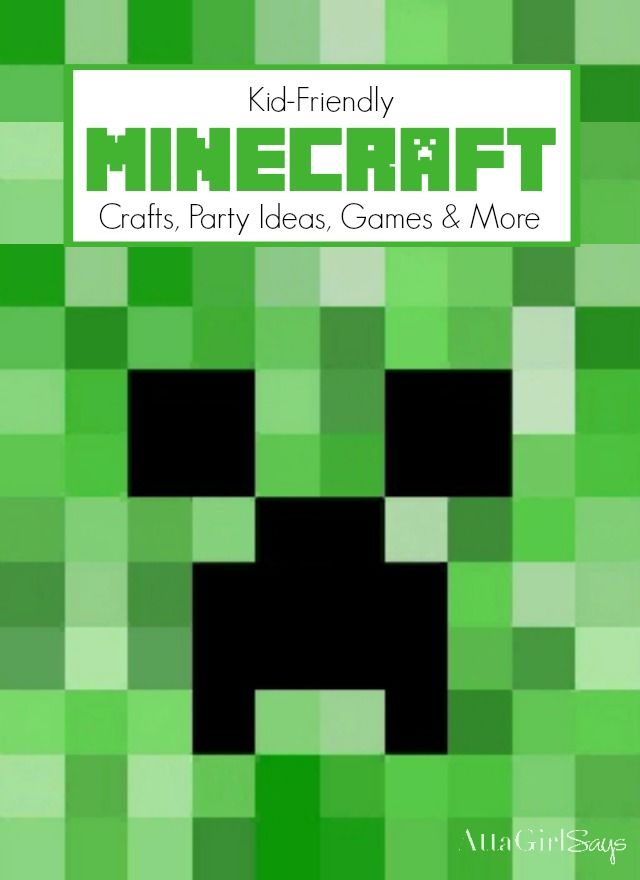 gaming your kids experimenting with minecraft