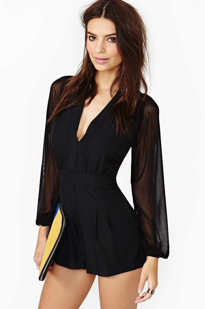 Motel Charma Romper I normally dislike romper a with a passion but...this one I can do