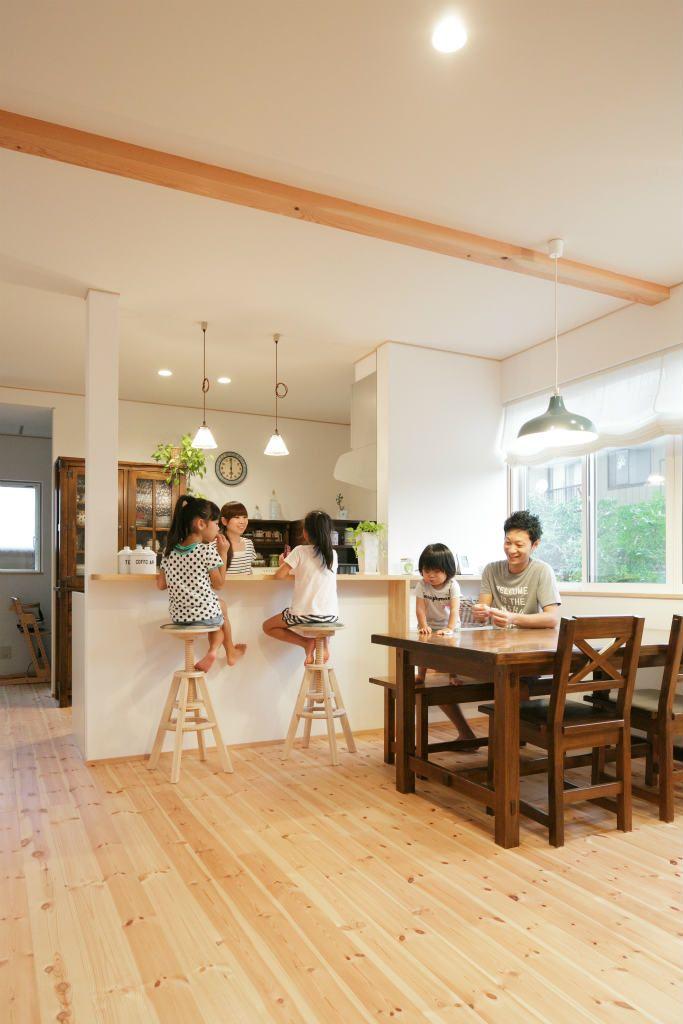 自分らしい棲み家のかたち 04 105 32坪 7人ご家族のお住まい 家