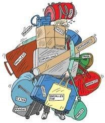 All My Bags Are Packed..Oh Wait There's More - the challenges of travelling light