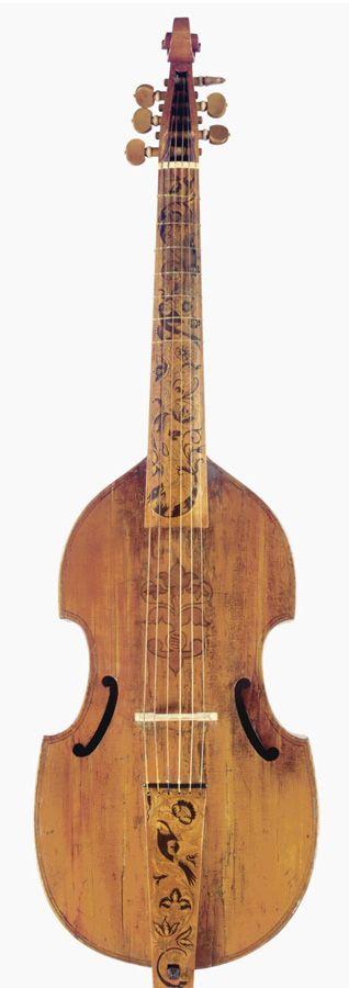 Barak Norman Bass Viola da Gamba, London 1700