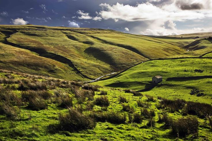 Prachtig landschap in Yorkshire Moorse (Noord-Engeland) #Engeland #rondreis #heuvelland