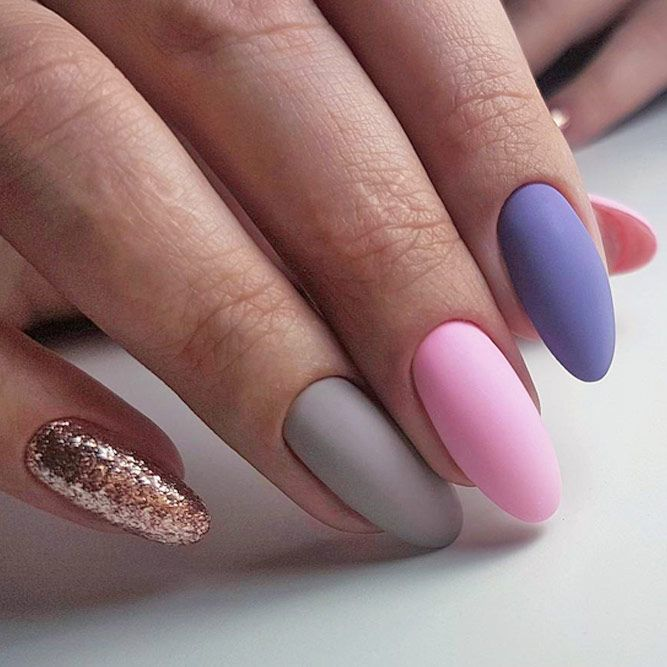 16 stunning and simple nail designs you can duplicate at - Easy nail designs you can do at home ...