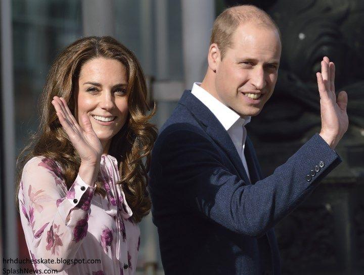 hrhduchesskate:  World Mental Health Day Events, October 10, 2016-Duke and Duchess of Cambridge