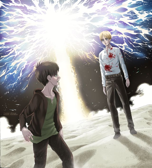 Pin on Eren and Armin