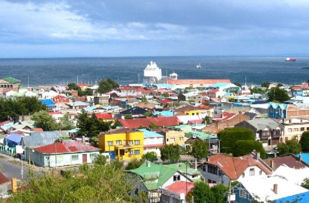 Punta Arenas, Chile 53 degrees south