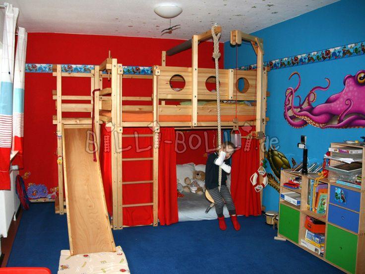 Kids Loft Bed Ideas 25+ best kids bed with slide ideas on pinterest
