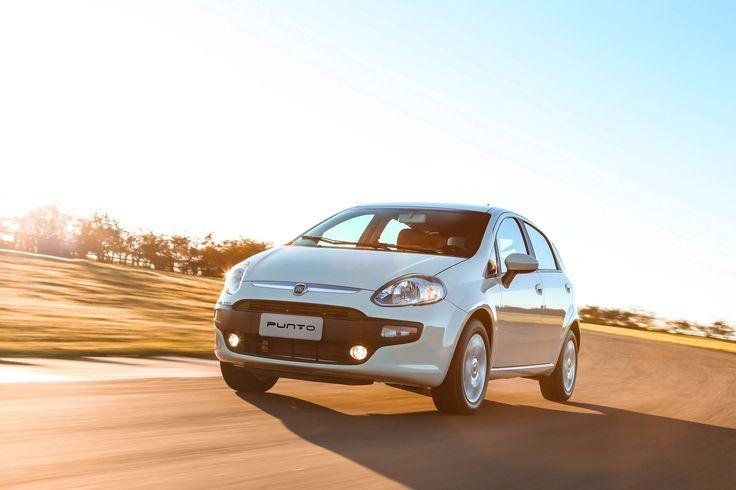 Levanta fuertes emociones con el #Fiat Punto, un vehículo innovador y elegante