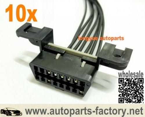 longyue 10pcs jeep cj8 scrambler 5 9l engine wiring harness obdii obd2 aldl  data link 12