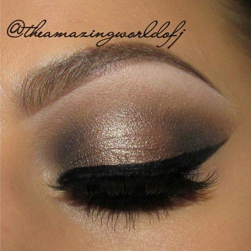 Bronzed natural eye makeup look by @theamazingworldofj http://tamirahamilton.com/gtl #beautychat #beautytalk (at tamirahamilton.com/gtl)