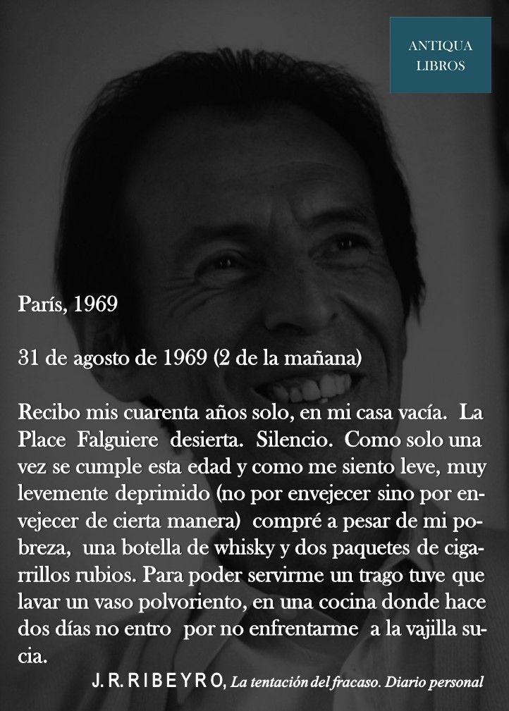 De La tentación del fracaso, Julio Ramón Ribeyro