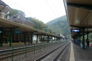 Sinaia Railway station, Romania