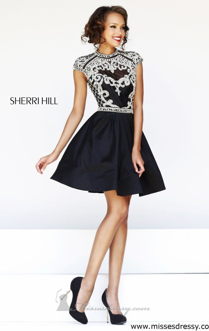 Look amazingly beautiful with Sherri Hill 4300. This ...