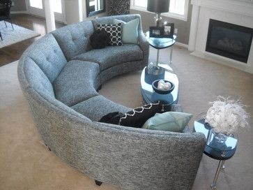 Custom Furniture Pieces Designed By Alexis Designs Contemporary Sectional  Sofas