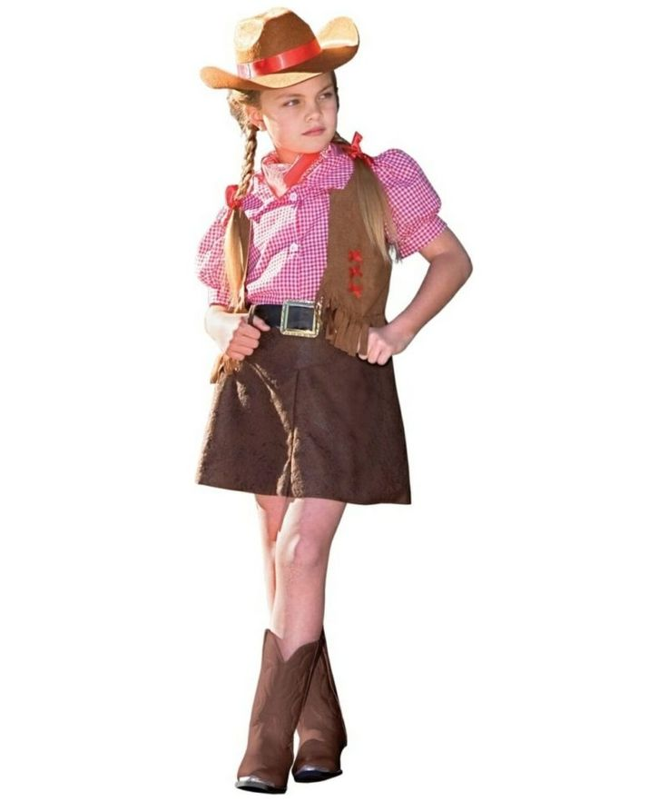Girls Costumes Cowgirl Costume For Girls