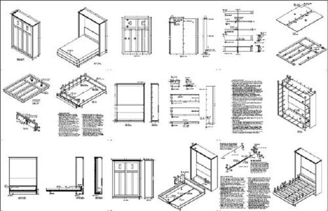 Everything you need to make your own Murphy bed (DIY Plan) Fun to build!!