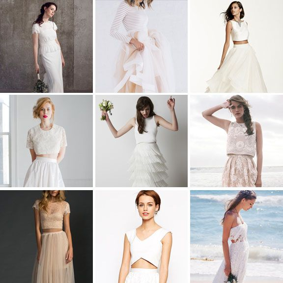 bridal seperates for every style taste and budget