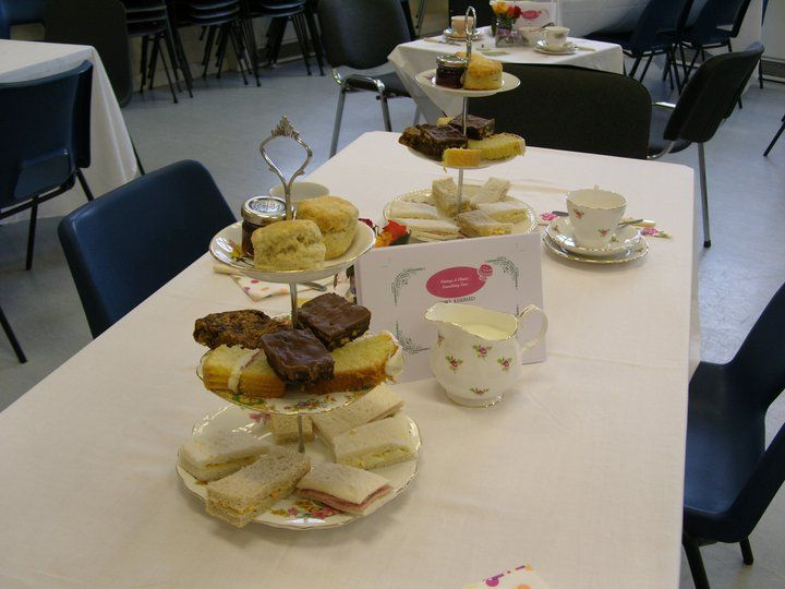 Pop up Afternoon Tea Party in a Village Hall