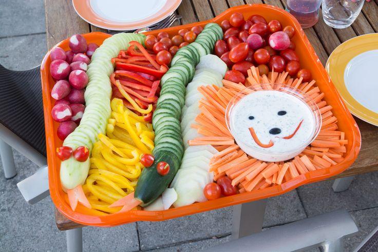 Gefährliche Gemüseplatte für Kinder - Dangerous vegetables for Kids