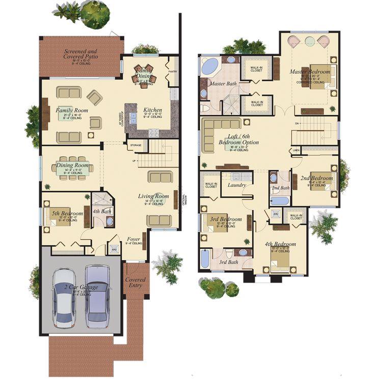 Florida Home Builders Plans House Plan 2017