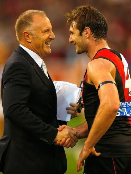 Father and son, Tim and Jobe Watson
