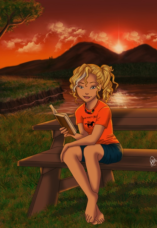 Annabeth Chase. Easily the best picture I have found of her yet