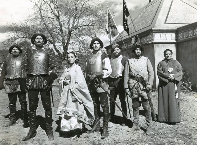 CAPTAIN FROM CASTILLE (1947) - Tyrone Power - Jean Peters - Cesar Romero - John Sutton - Lee J. Cobb - Based on novel by Samuel Shellabarger - Directed by - 20th Century-Fox - Publicity Still.