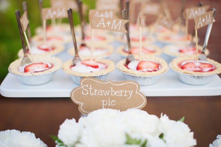 mini strawberry pies! | Danielle Davis
