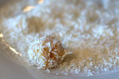 Lemon & Coconut Brigadeiros | Recipes for Sweet Things | Pinterest