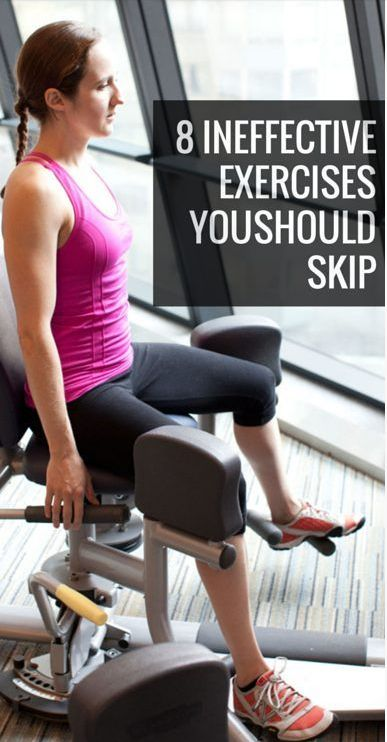 8 Ineffective Exercises That You Should Pass At the Gym