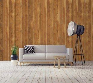 papier peint imitation planche de bois