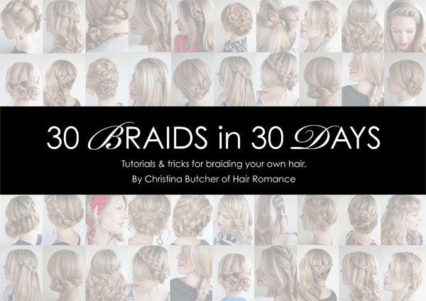 30 Braids in 30 Days – The eBook