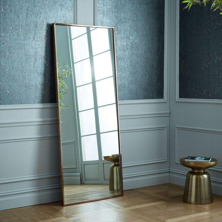 Metal Floor Mirror