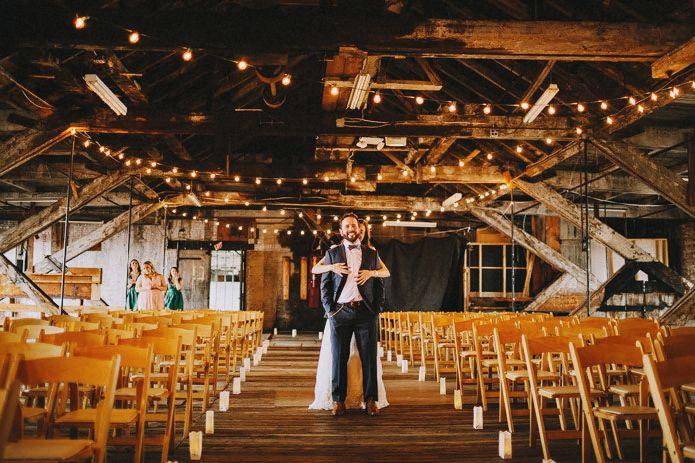 portland warehouse wedding photo 020