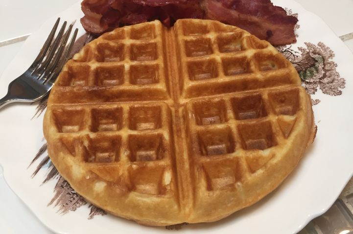 Rich Buttermilk Waffles Recipe Food Com Recipe Buttermilk Waffles Buttermilk Waffles Recipe Waffle Recipes
