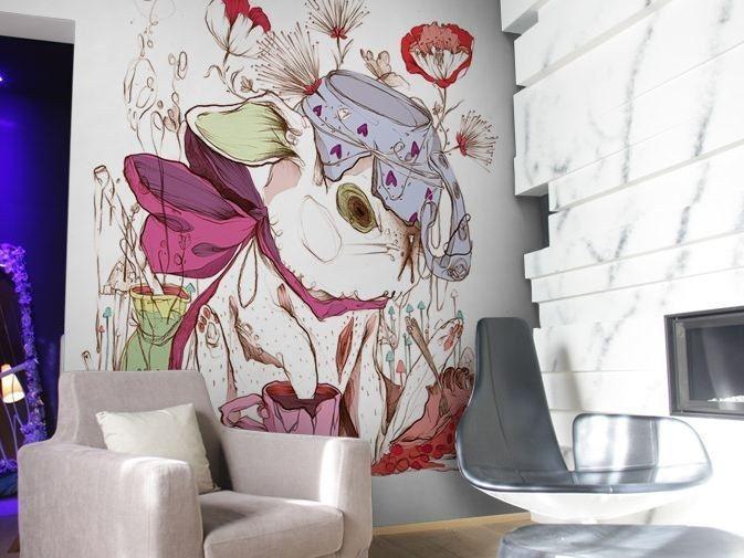 Papel de parede lavável de vinil CG2 by GLAMORA design Celina de Guzman