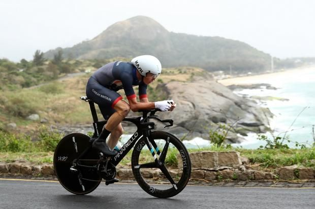Men's time trial - Chris Froome wins bronze