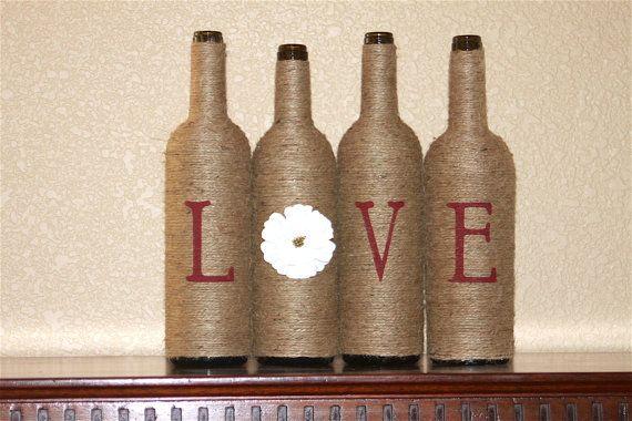Botella de vino Casa Decor amor botellas de vino por WineNBabies